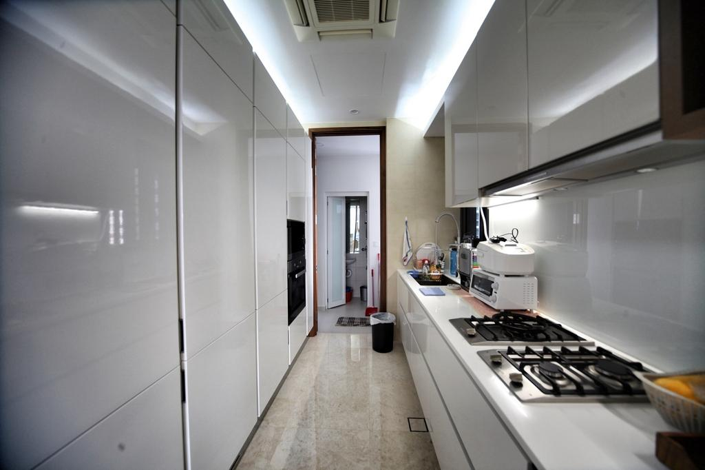 Contemporary, Condo, Kitchen, One Balmoral, Interior Designer, Interior Diary