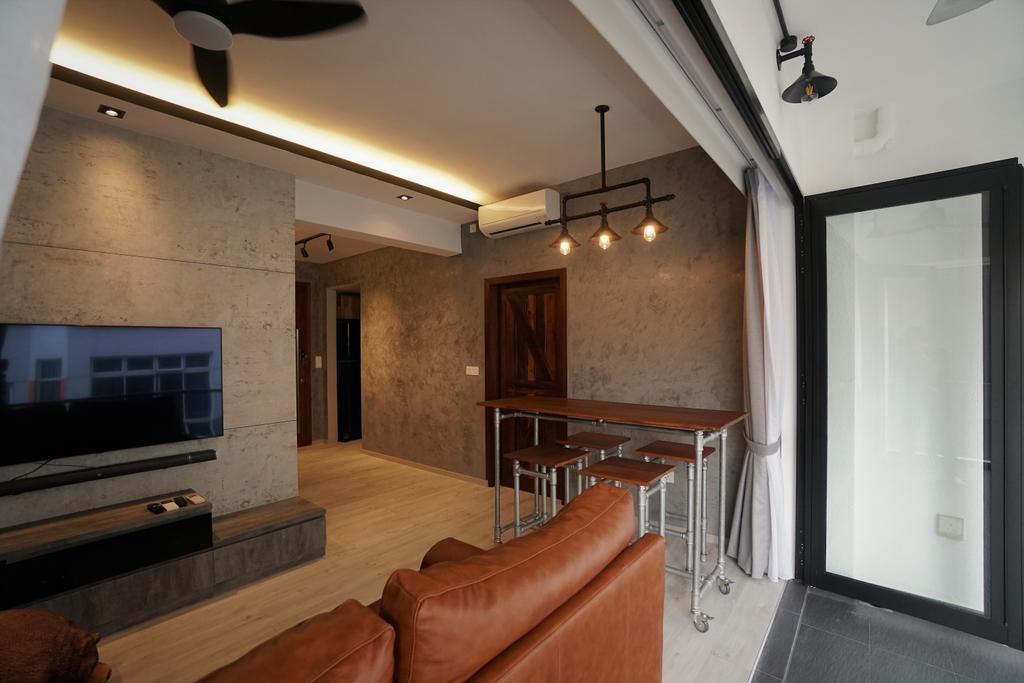 Contemporary, Condo, Living Room, Lorong M @ Telok Kurau, Interior Designer, Interior Diary