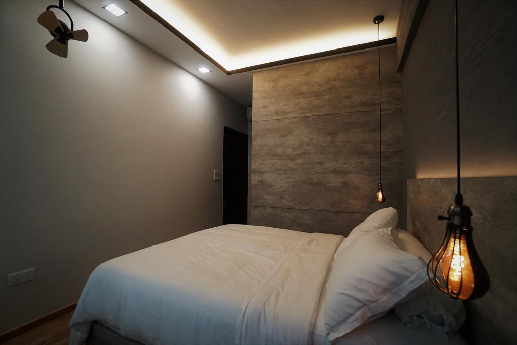 Contemporary, Condo, Bedroom, Lorong M @ Telok Kurau, Interior Designer, Interior Diary