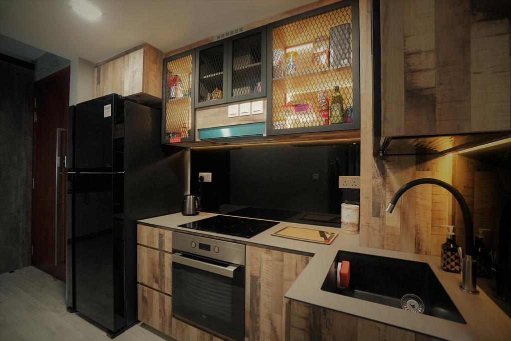 Contemporary, Condo, Kitchen, Lorong M @ Telok Kurau, Interior Designer, Interior Diary