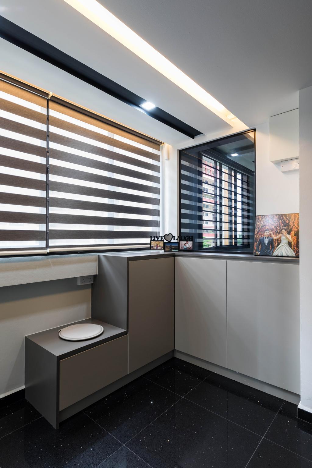 Contemporary, HDB, Serangoon North Avenue 1, Interior Designer, De Exclusive Design Group