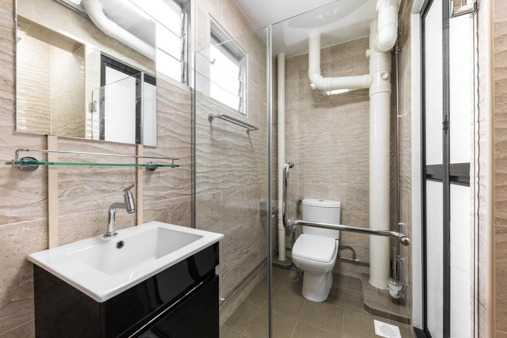 Contemporary, HDB, Bathroom, Serangoon North Avenue 1, Interior Designer, De Exclusive Design Group