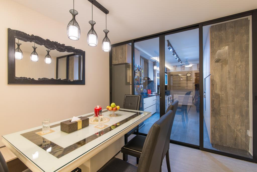Contemporary, HDB, Hougang Avenue 1, Interior Designer, Z House Interior Design