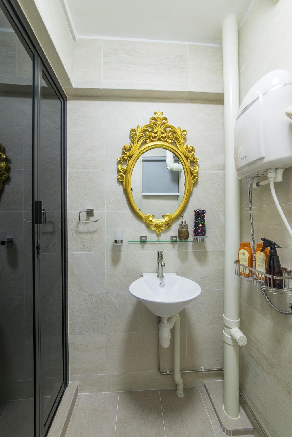 Contemporary, HDB, Bathroom, Hougang Avenue 1, Interior Designer, Z House Interior Design