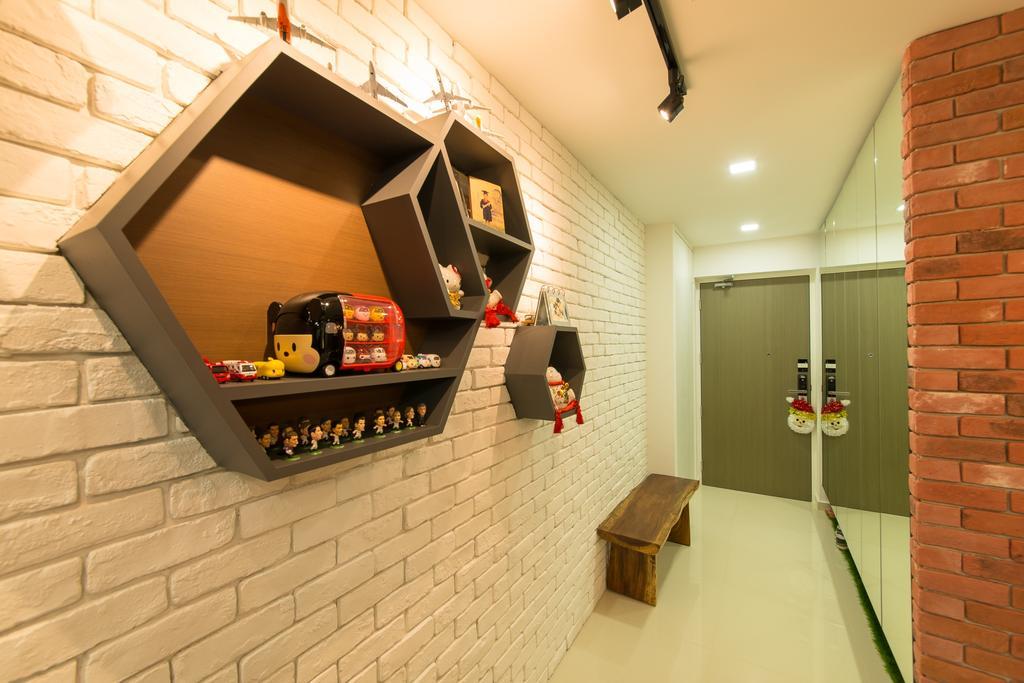 Contemporary, HDB, Pasir Ris Drive 1, Interior Designer, Z House Interior Design