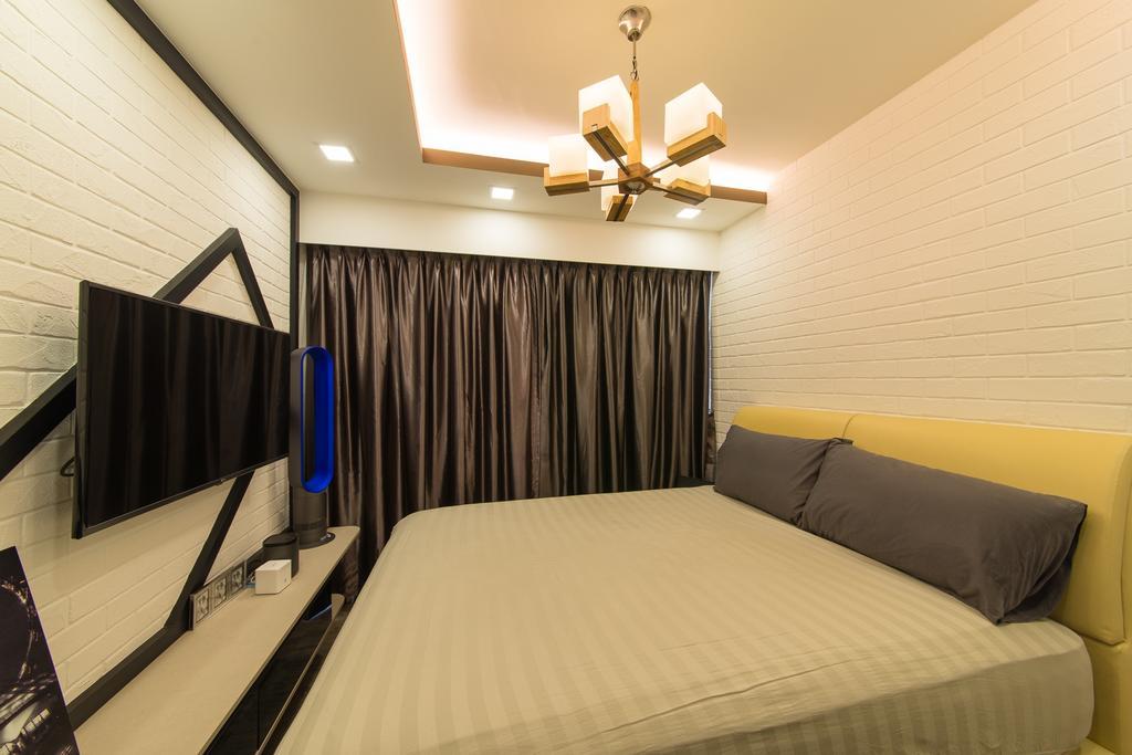 Contemporary, HDB, Bedroom, Pasir Ris Drive 1, Interior Designer, Z House Interior Design