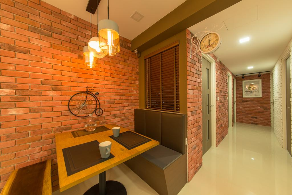 Contemporary, HDB, Dining Room, Pasir Ris Drive 1, Interior Designer, Z House Interior Design