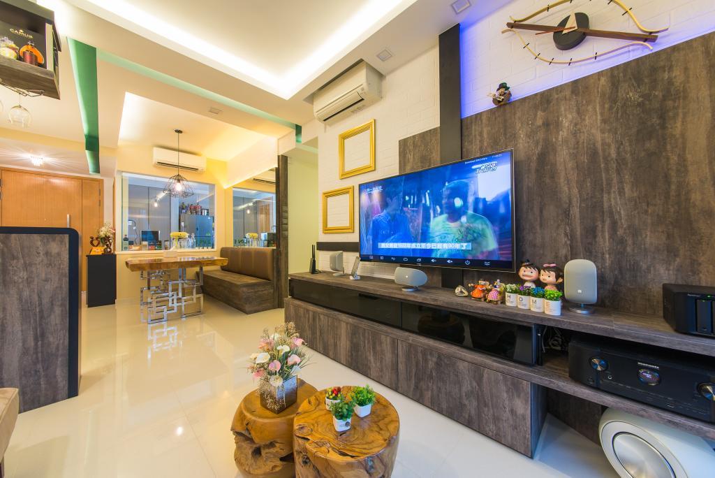 Contemporary, Condo, Living Room, Prive Condo, Interior Designer, Z House Interior Design