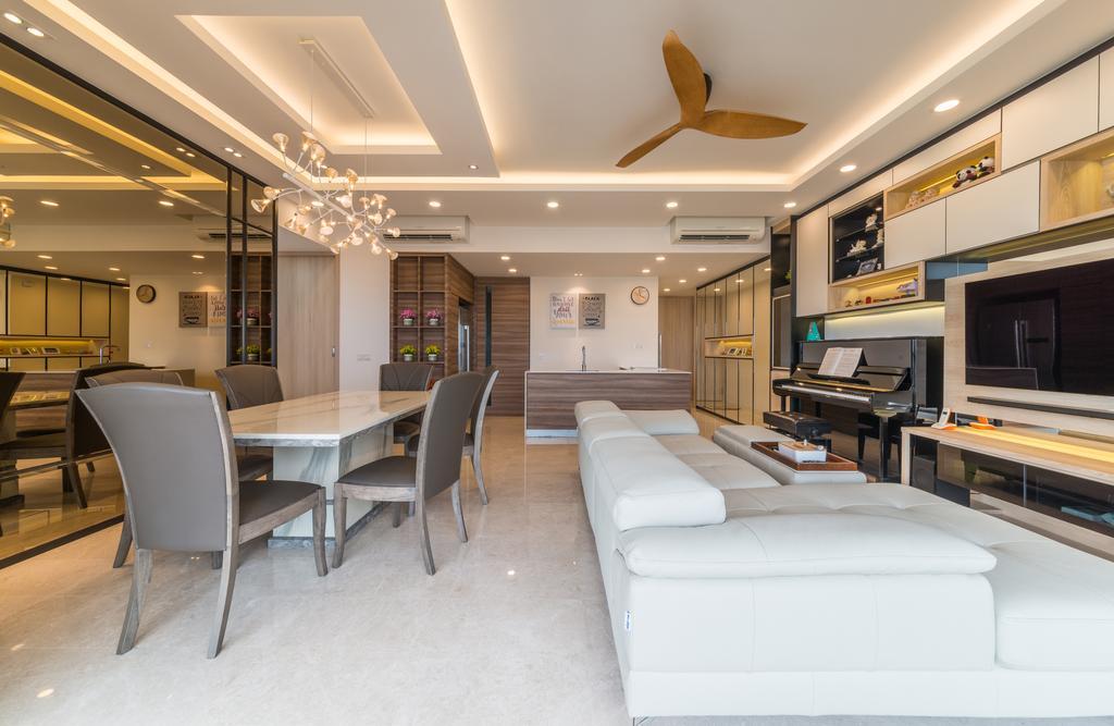 Contemporary, Condo, Living Room, The Panorama, Interior Designer, Z House Interior Design