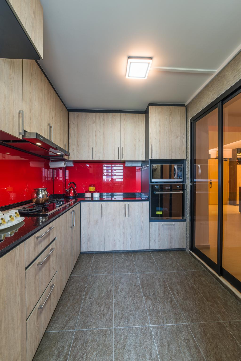 Contemporary, HDB, Kitchen, Whampoa Drive, Interior Designer, Z House Interior Design