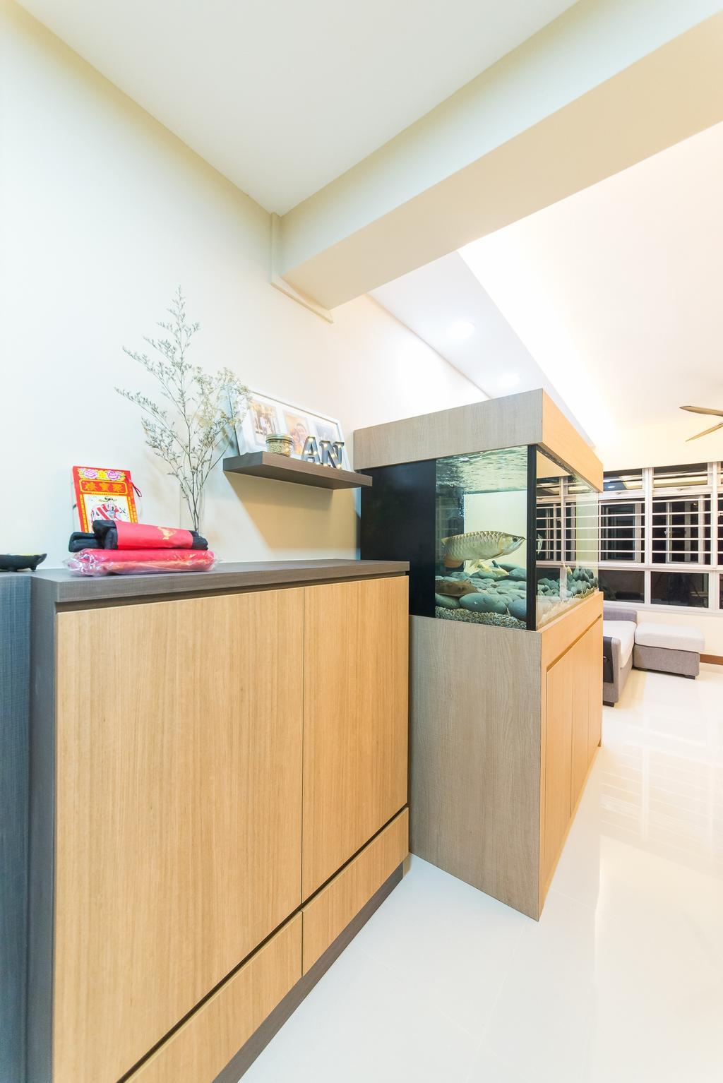 Contemporary, HDB, Kitchen, Yishun Street 51, Interior Designer, Z House Interior Design