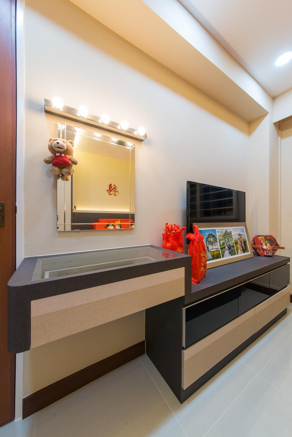 Contemporary, HDB, Yishun Street 51, Interior Designer, Z House Interior Design