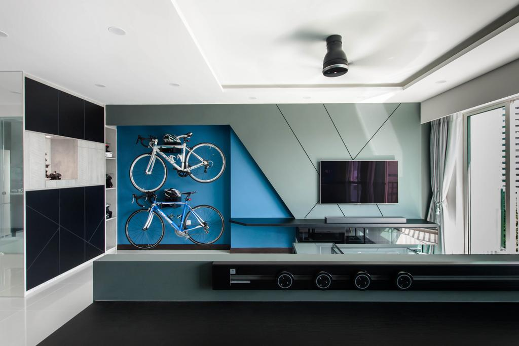 Contemporary, HDB, Living Room, Bukit Batok Street 22, Interior Designer, Space Atelier