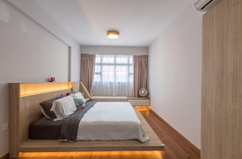 Contemporary, HDB, Bedroom, Bukit Batok West Avenue 8, Interior Designer, Space Atelier