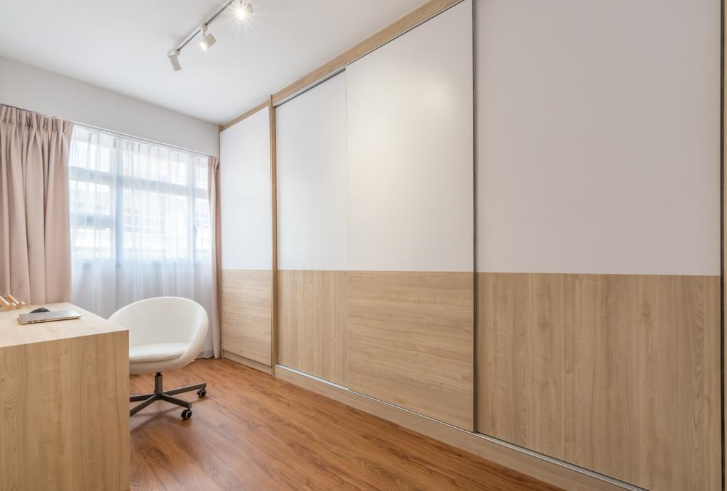 Contemporary, HDB, Study, Bukit Batok West Avenue 8, Interior Designer, Space Atelier