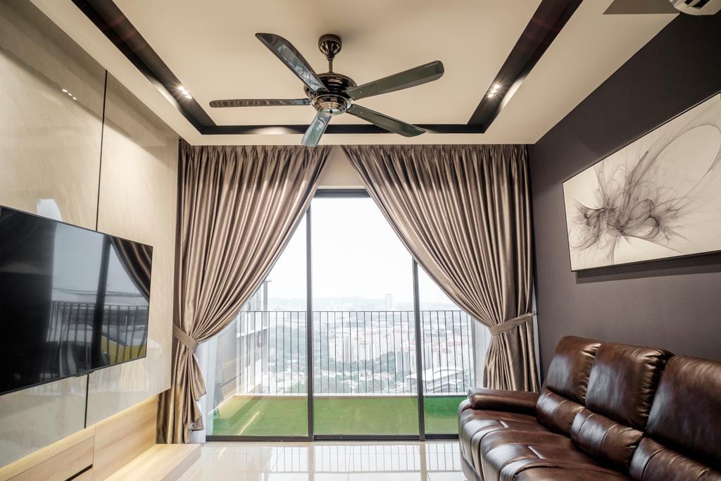 Modern, Apartment, Rainz residence, Bukit Jalil, Interior Designer, Y&L Concept Studio, Contemporary