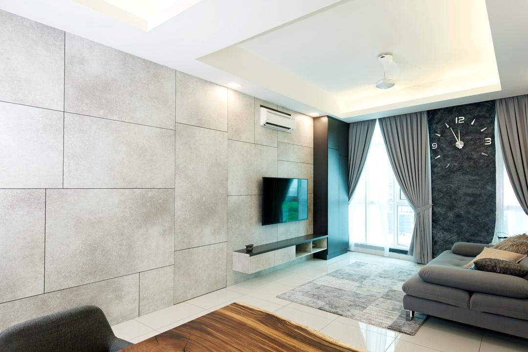 Central Residence Living Room Interior Design 4