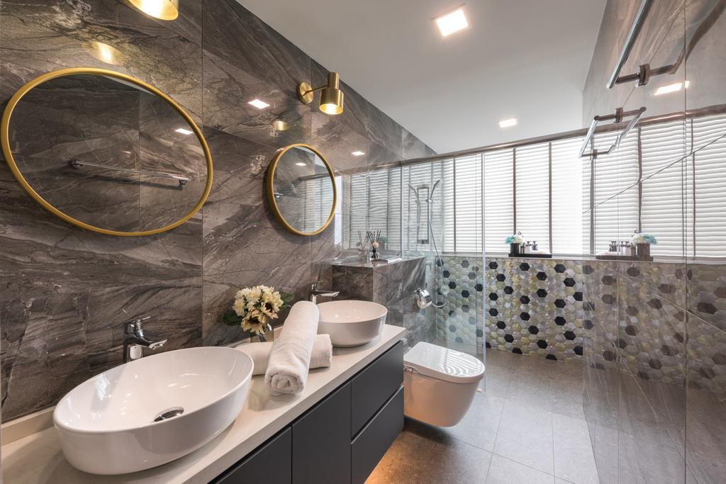 Contemporary, Condo, Bathroom, Gardenvista, Interior Designer, Space Define Interior