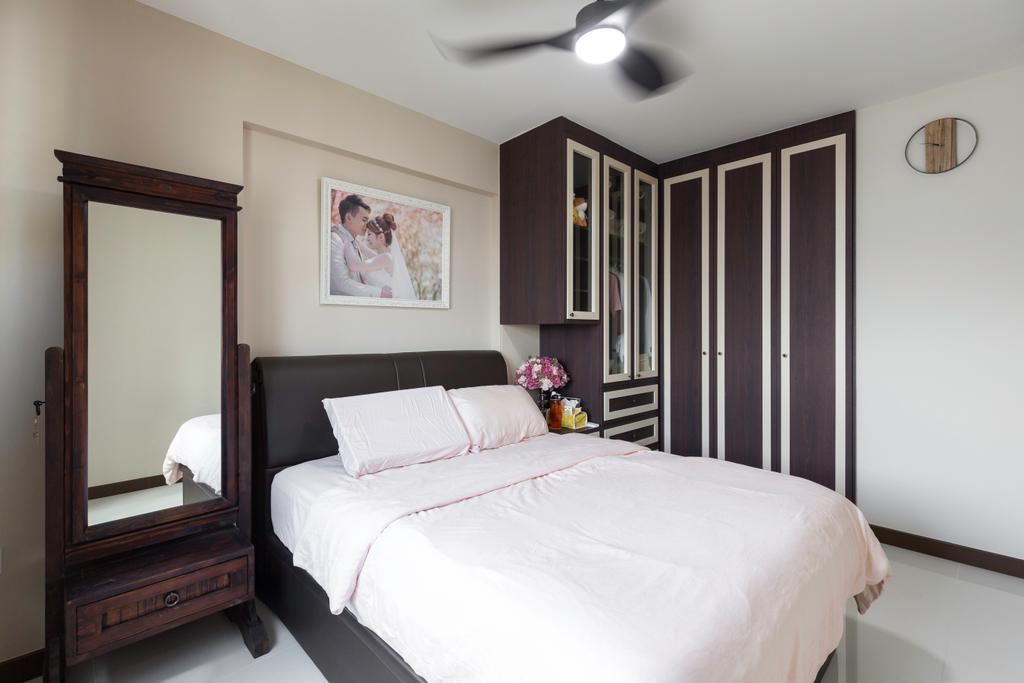 Contemporary, HDB, Bedroom, Bedok North Street 4, Interior Designer, Dyel Design