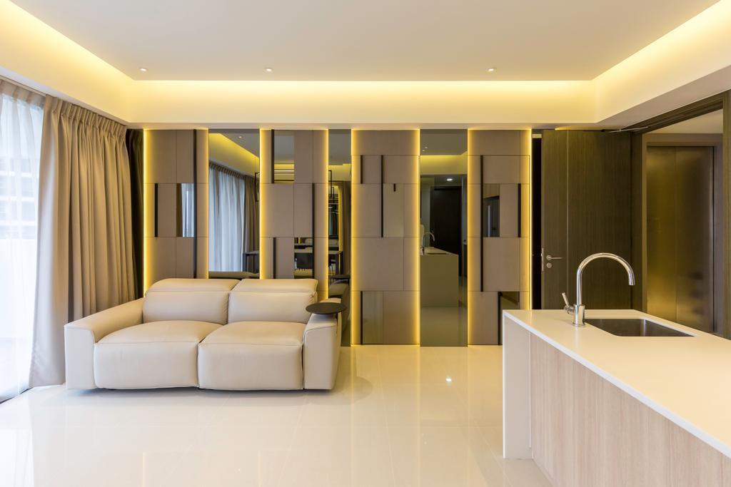 Contemporary, Condo, Fernvale Close, Interior Designer, Design by Fifteen Pte Ltd