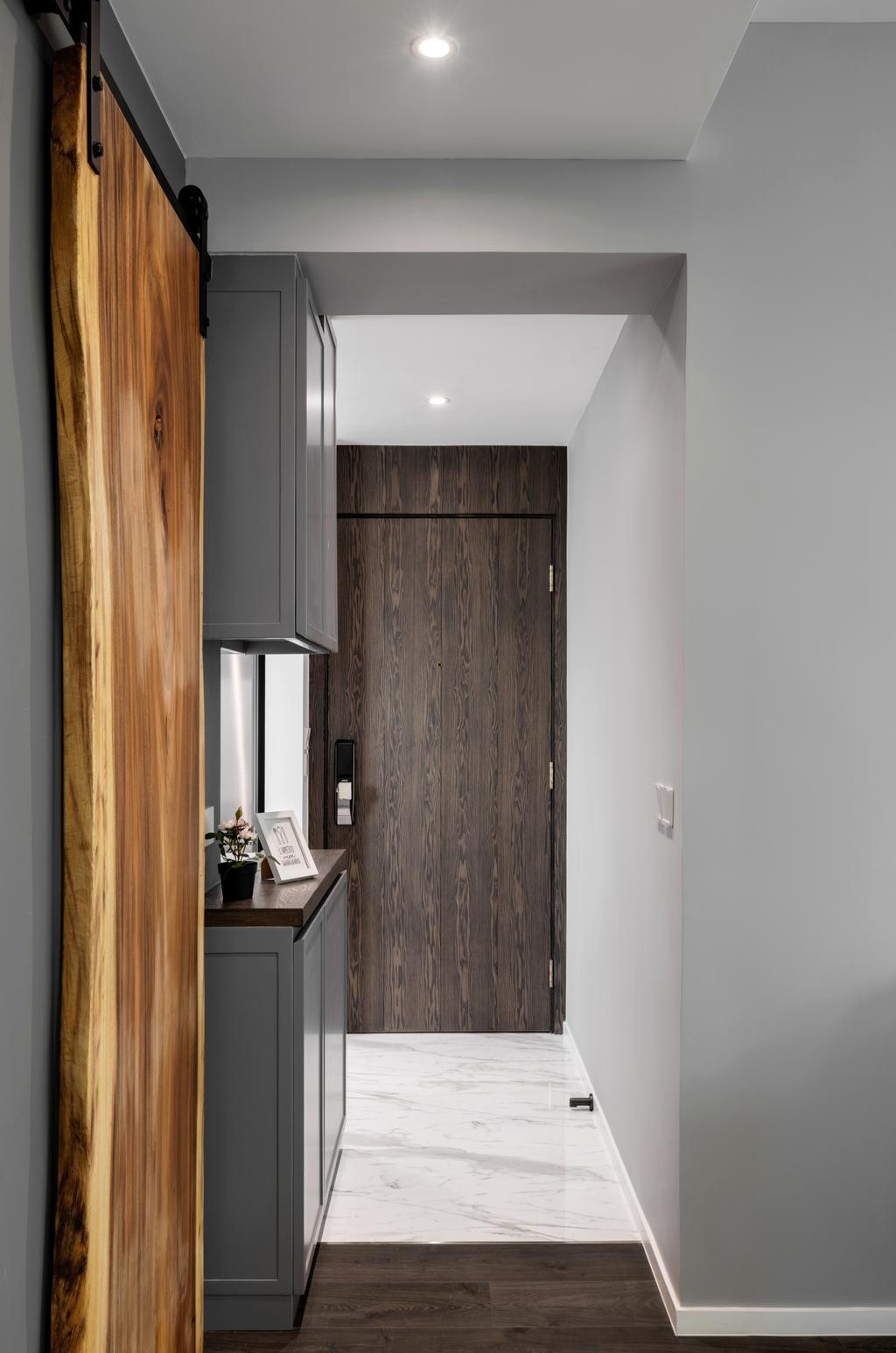 簡約, 私家樓, 客廳, 柏道2號, 室內設計師, N'creative, 摩登