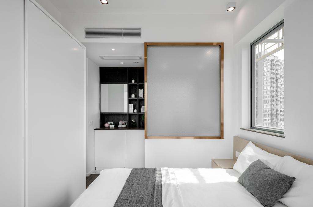 簡約, 私家樓, 睡房, 柏道2號, 室內設計師, N'creative, 摩登