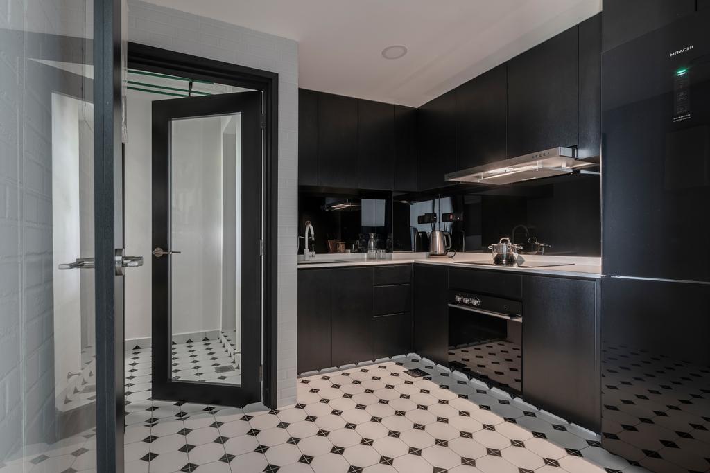 Contemporary, Condo, Kitchen, Emerald Park, Interior Designer, Stylemyspace