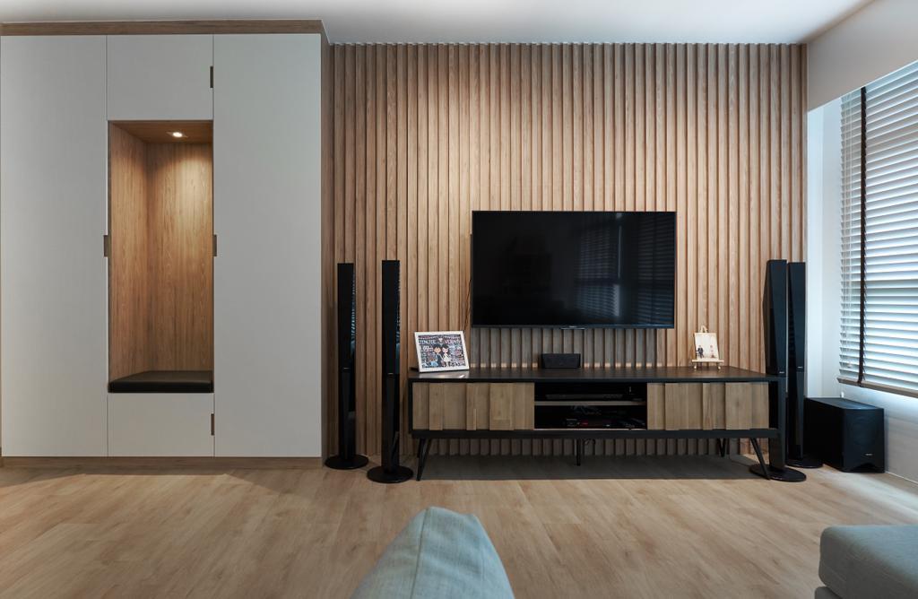 Contemporary, HDB, Living Room, Bukit Batok East, Interior Designer, Lemonfridge Studio