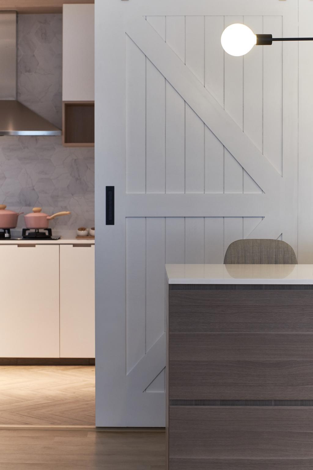 Contemporary, HDB, Bukit Batok East, Interior Designer, Lemonfridge Studio