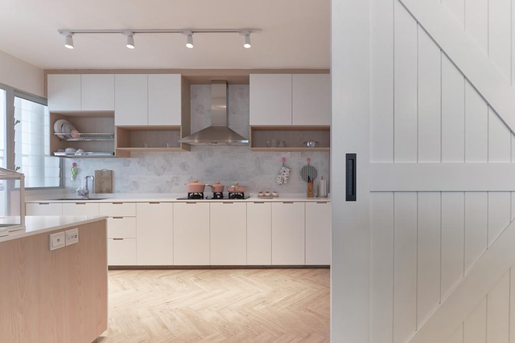 Contemporary, HDB, Kitchen, Bukit Batok East, Interior Designer, Lemonfridge Studio