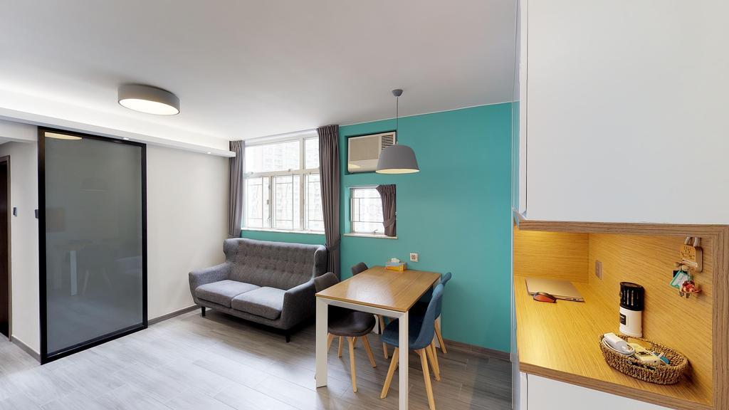 簡約, 公屋/居屋, 客廳, 富欣花園, 室內設計師, 和生設計