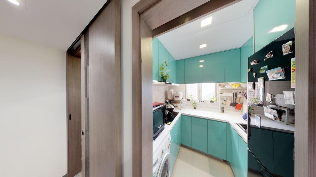 簡約, 公屋/居屋, 廚房, 富欣花園, 室內設計師, 和生設計