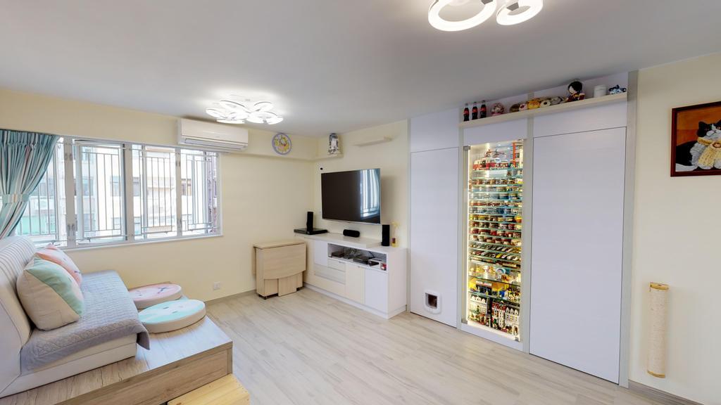 北歐, 私家樓, 客廳, 翠麗苑, 室內設計師, 和生設計