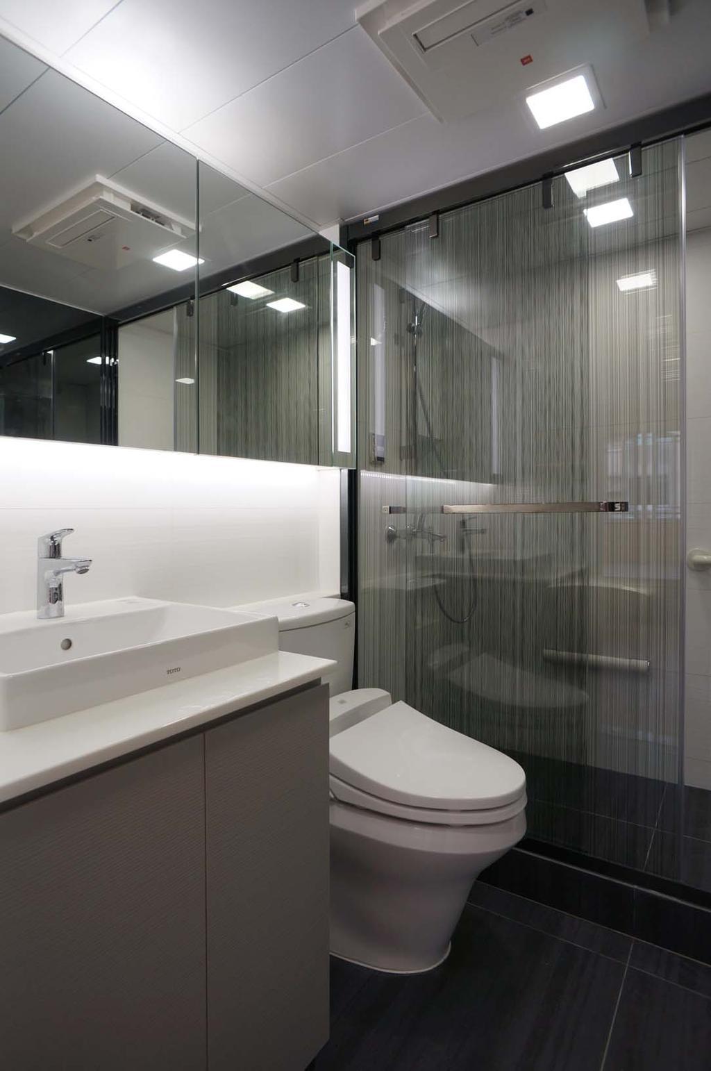 北歐, 私家樓, 浴室, 翠麗苑, 室內設計師, 和生設計