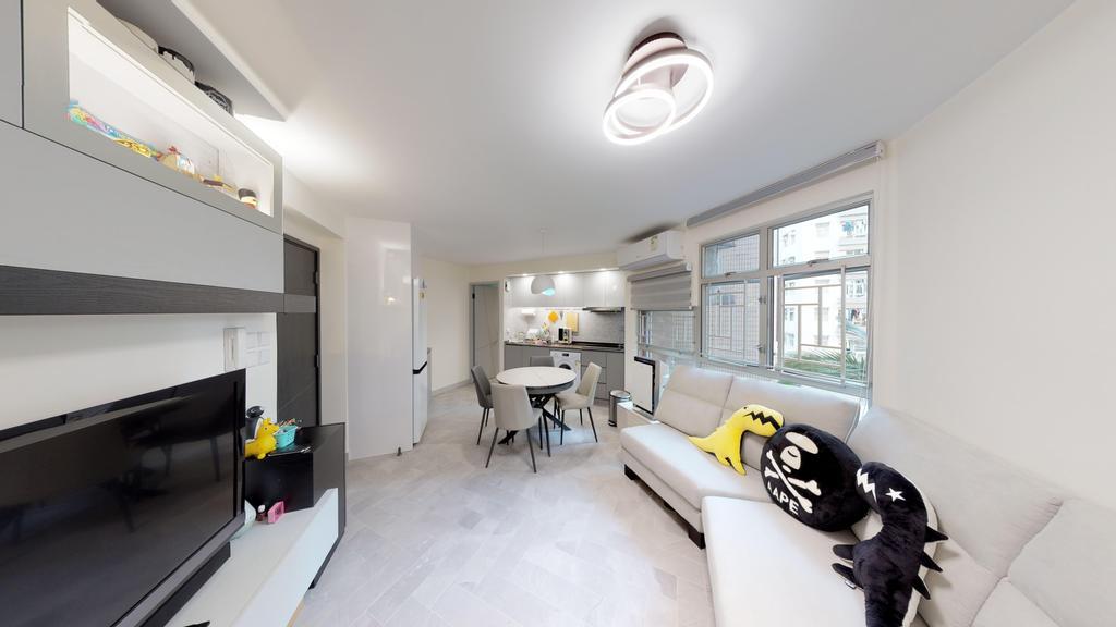 私家樓, 客廳, 欣圖軒, 室內設計師, 和生設計