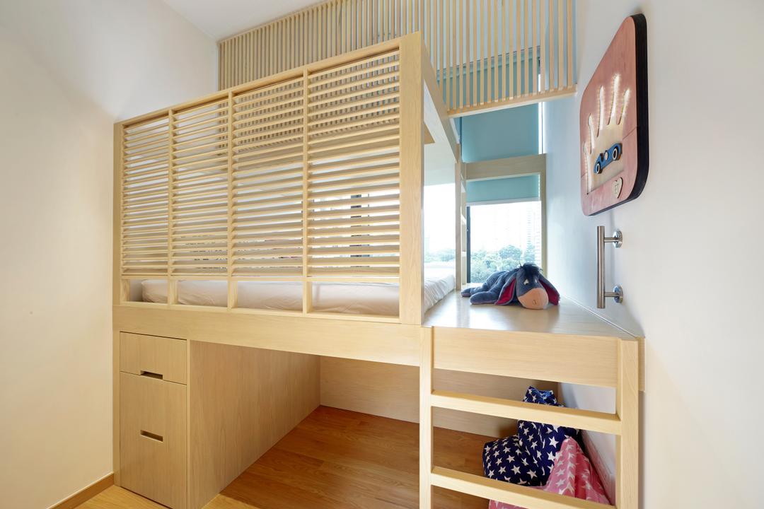 Balmoral, Para.graph, Contemporary, Bedroom, Condo, Kids Room, Kids Room, Carpentry