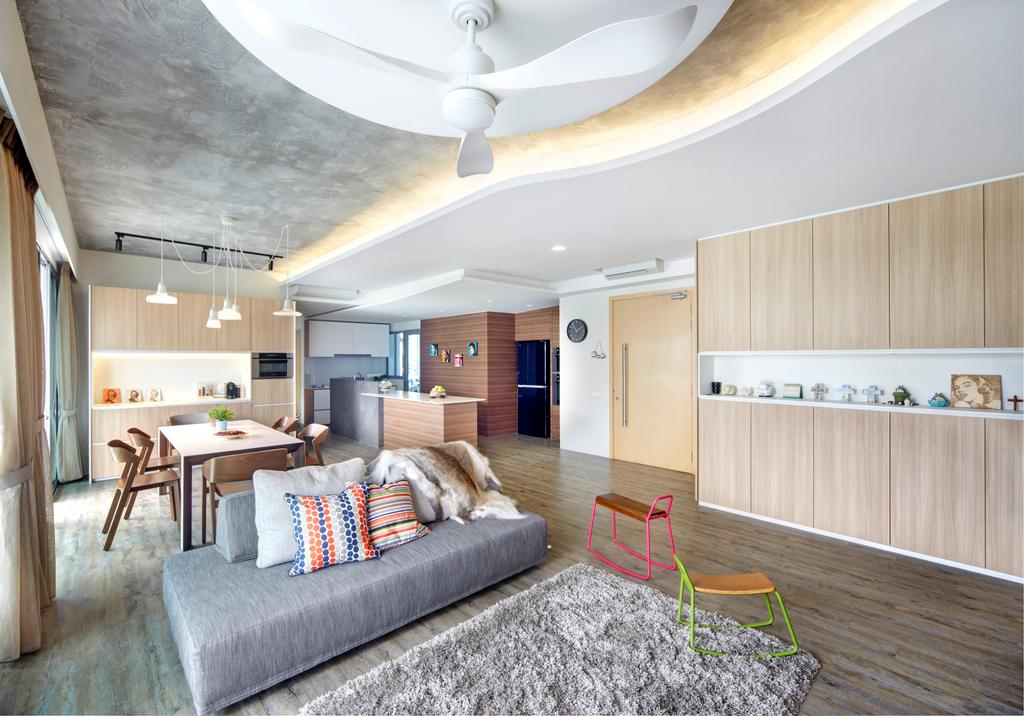 Contemporary, Condo, Living Room, Treasure Trove, Interior Designer, Para.graph, Modern