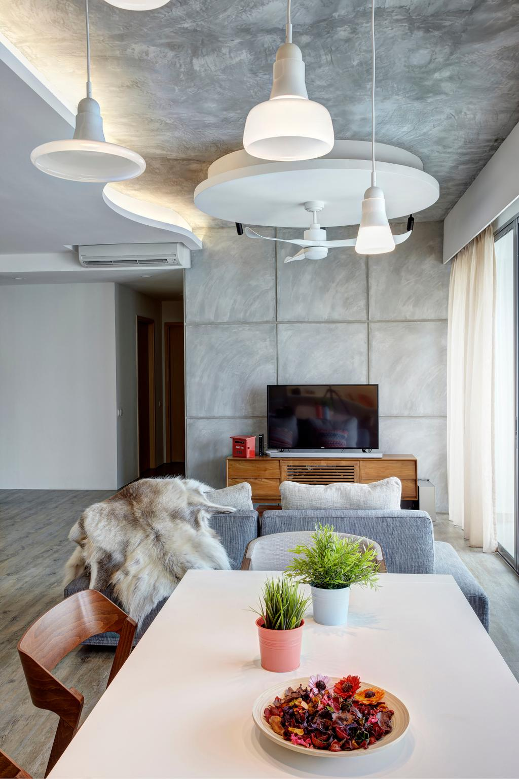Contemporary, Condo, Living Room, Treasure Trove, Interior Designer, Para.graph, Modern