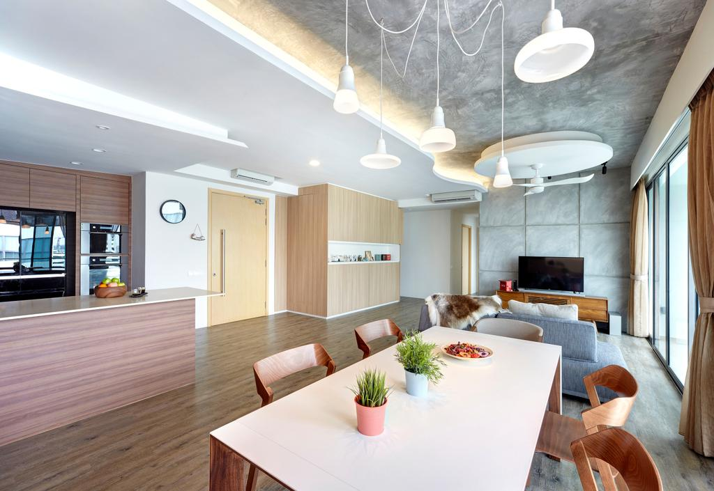 Contemporary, Condo, Dining Room, Treasure Trove, Interior Designer, Para.graph, Modern