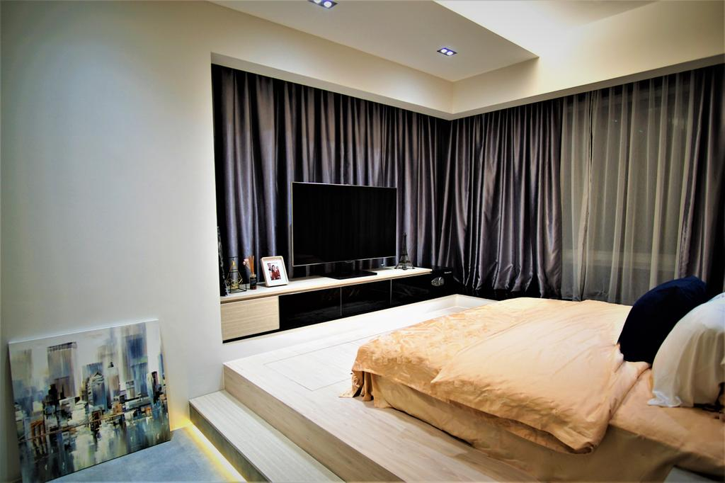 Contemporary, Condo, Bedroom, Alexandra View, Interior Designer, MET Interior