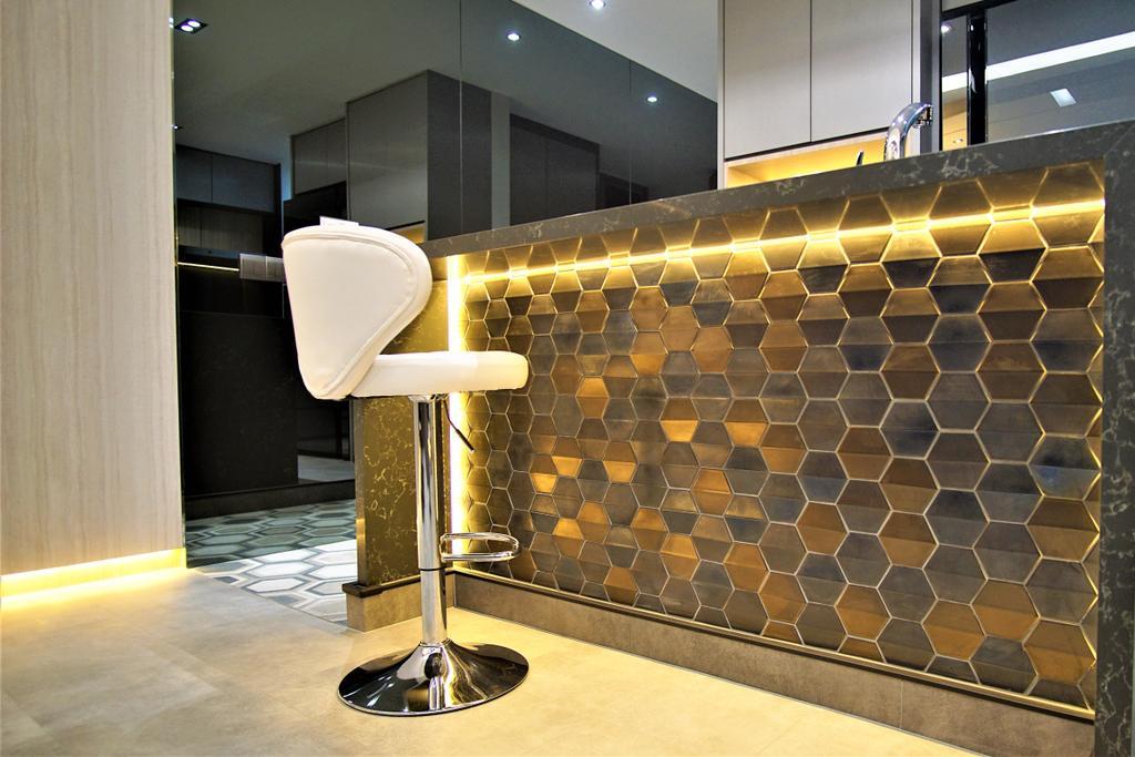 Contemporary, Condo, Alexandra View, Interior Designer, MET Interior