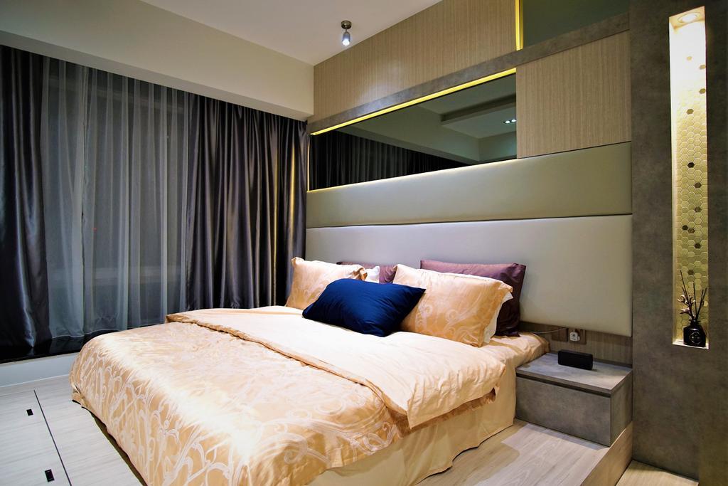 Contemporary, Condo, Bedroom, Alexandra View, Interior Designer, MET Interior