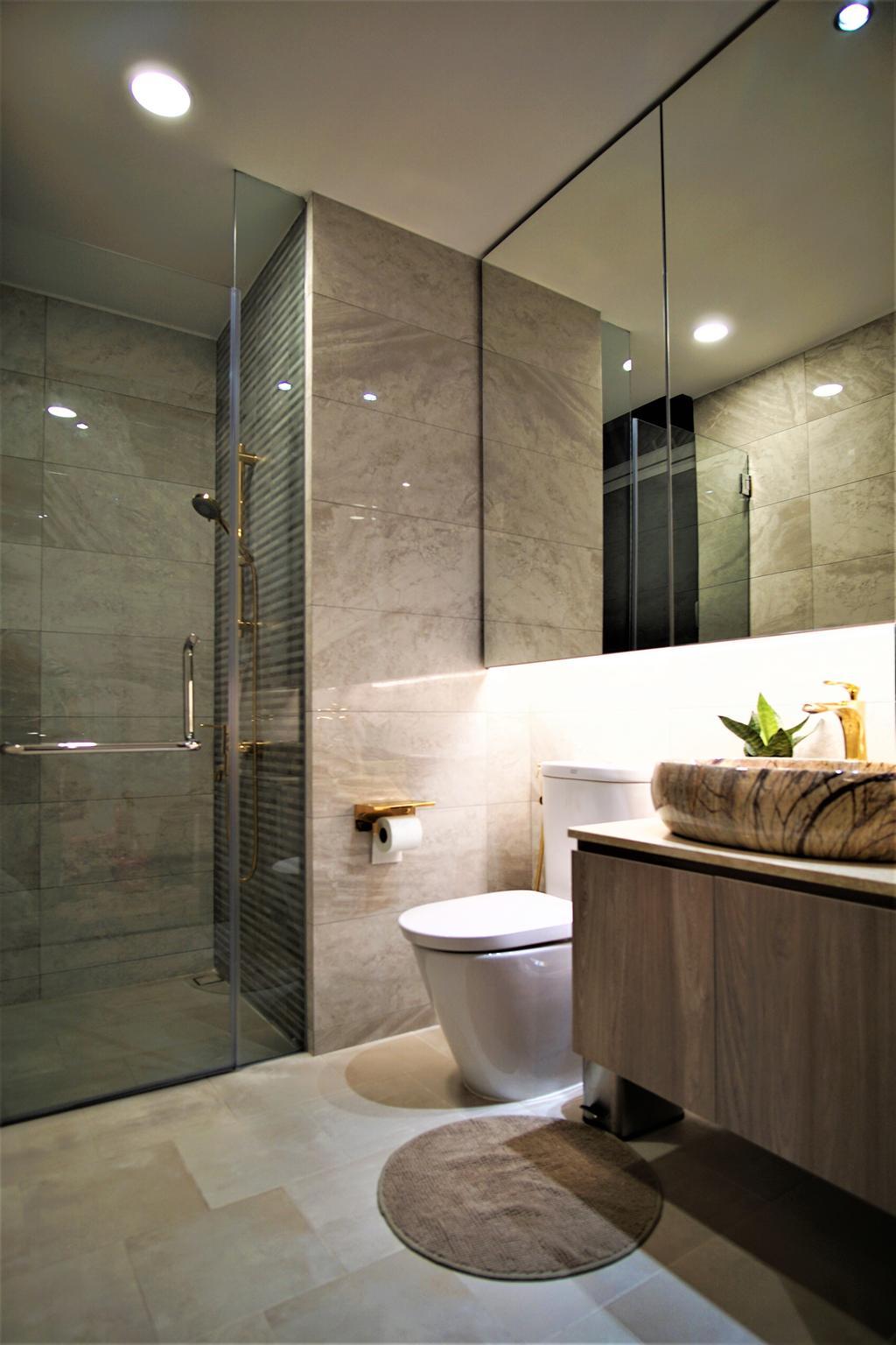Contemporary, Condo, Bathroom, Alexandra View, Interior Designer, MET Interior