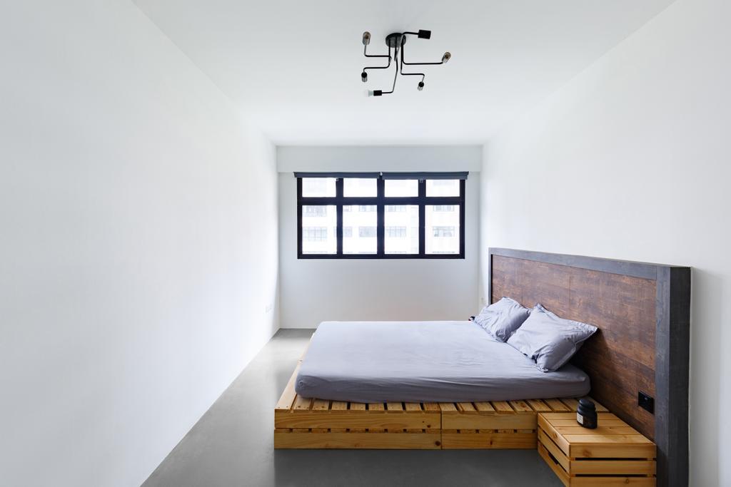Contemporary, HDB, Bedroom, Upper Serangoon Road, Interior Designer, The Local INN.terior 新家室