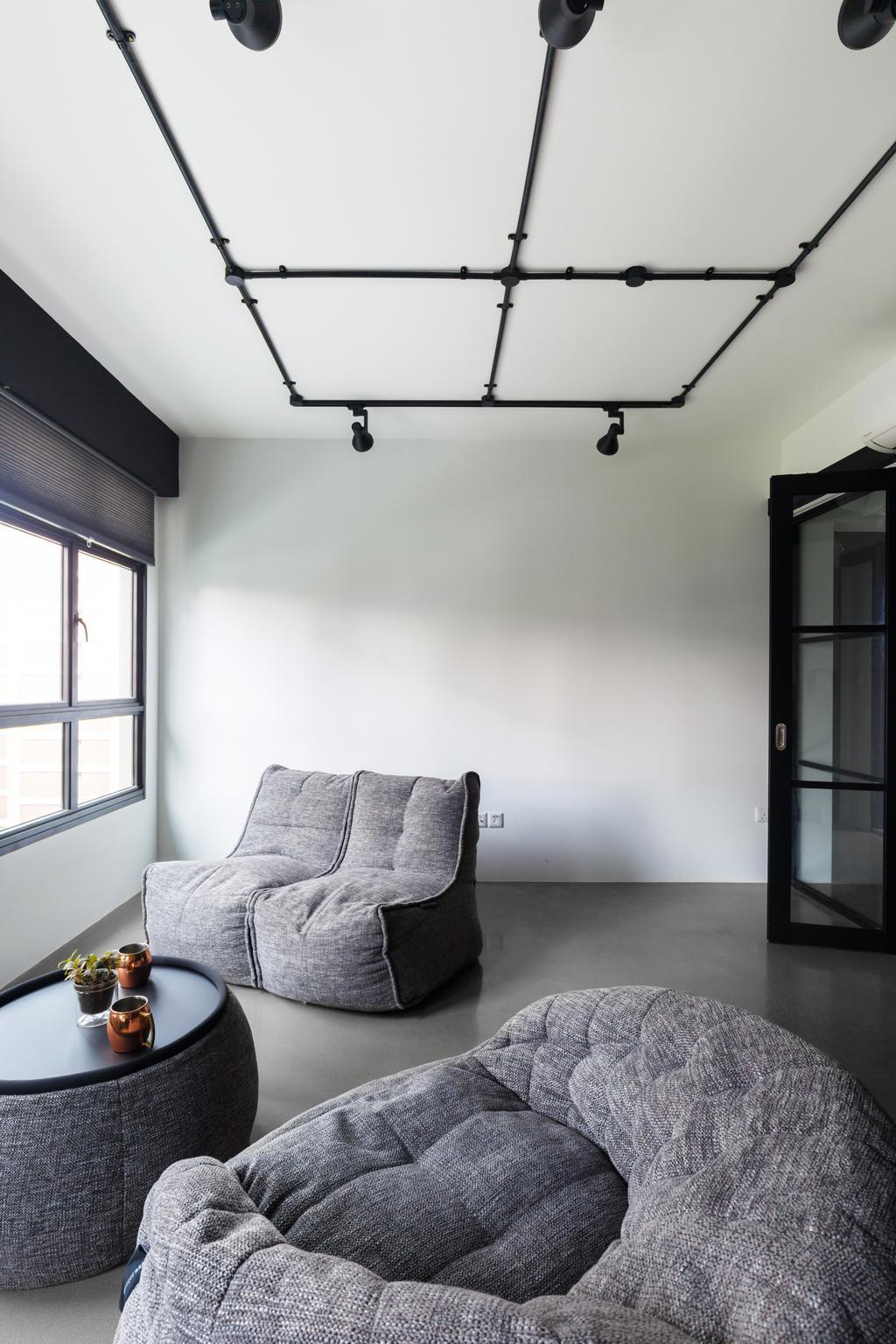 Contemporary, HDB, Living Room, Upper Serangoon Road, Interior Designer, The Local INN.terior 新家室