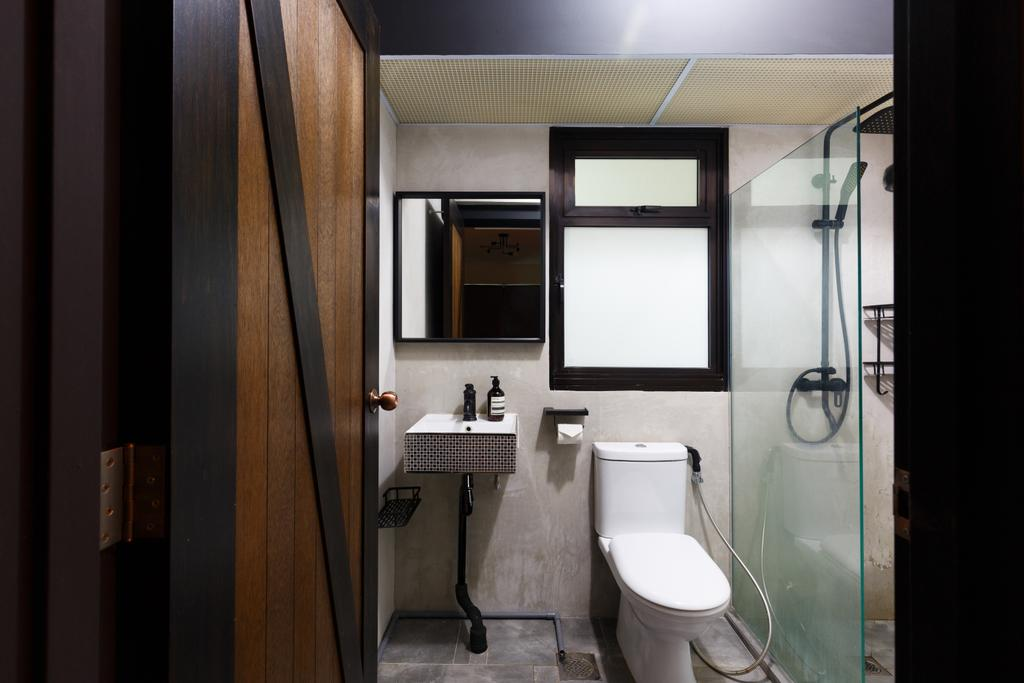 Contemporary, HDB, Bathroom, Upper Serangoon Road, Interior Designer, The Local INN.terior 新家室