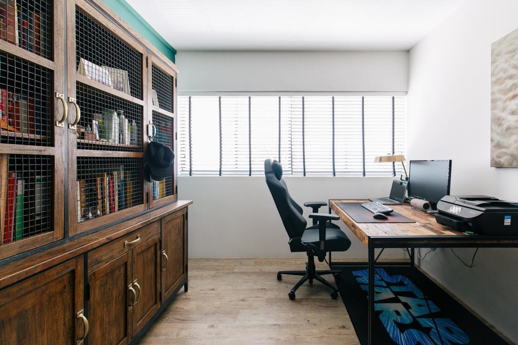 Contemporary, HDB, Study, Serangoon Avenue 3, Interior Designer, The Local INN.terior 新家室