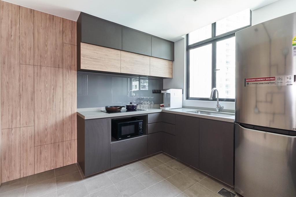 Contemporary, Condo, Kitchen, The Spinnaker, Interior Designer, Escapade Studios