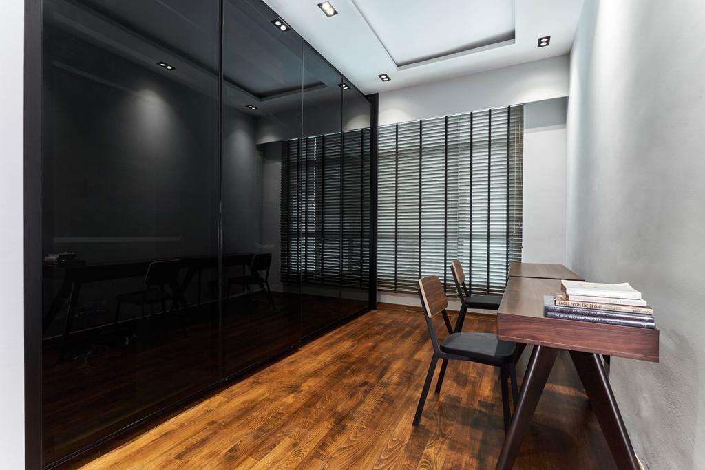Contemporary, Condo, Study, The Spinnaker, Interior Designer, Escapade Studios