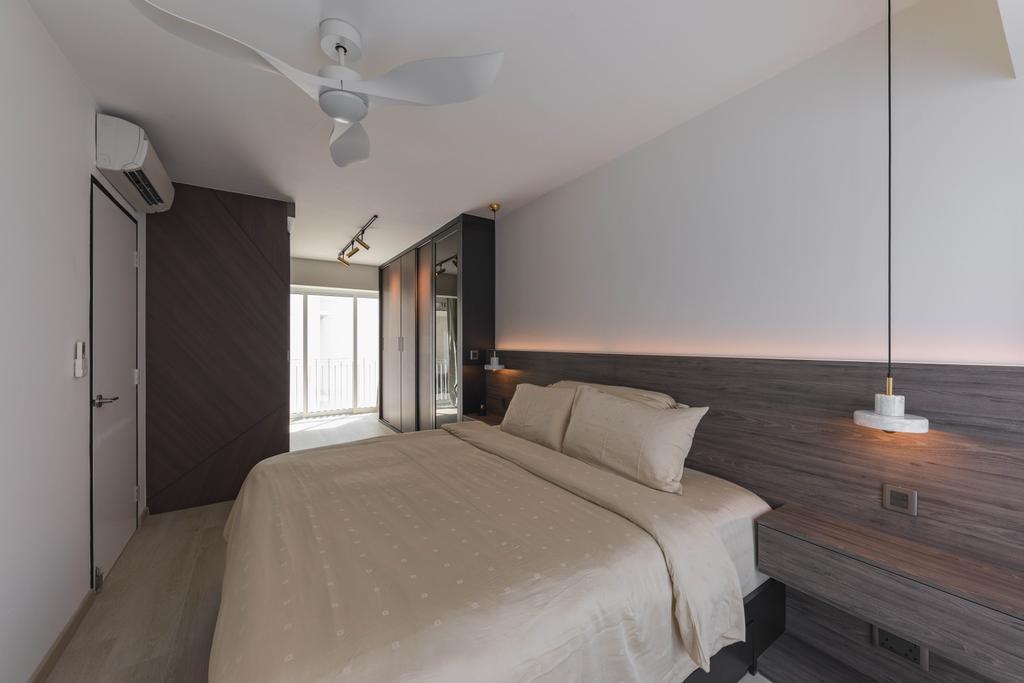 Contemporary, HDB, Bedroom, Ang Mo Kio Street 52, Interior Designer, ARK-hitecture